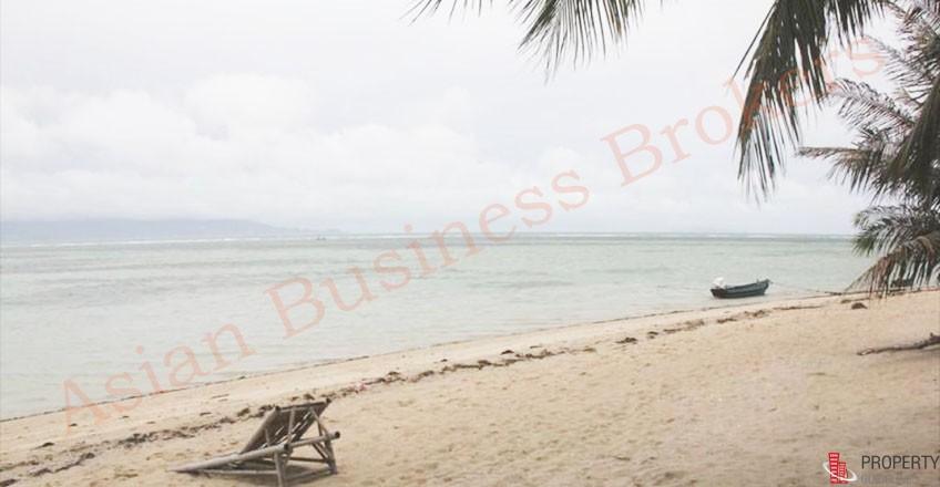 6705013 ให้เช่าบังกะโลรีสอร์ท ติดชายหาดที่เกาะพะงัน