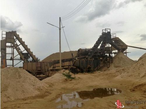 ขายกิจการบ่อทรายใหญ่ 250 ไร่ เขตกำแพงแสน นครปฐม
