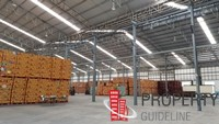 ให้เช่าเชิงพาณิชย์ Center Warehouse โกดัง คลังสินค้า 450 ตร.ม. บ้านบึง-ชลบุรี (หนองซ้ำซาก)  ราคาเพียง 68 บาท / ตร.ม.