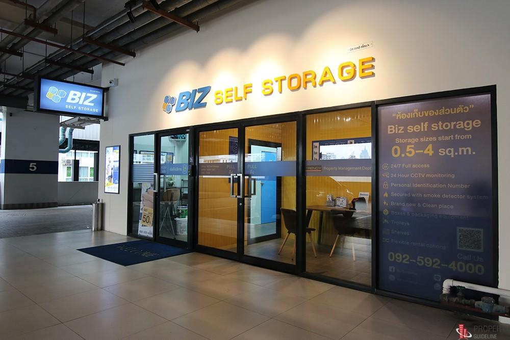 BIZ Self Storage ที่เก็บของส่วนตัวให้เช่า สุขุมวิท 13 (นานา)